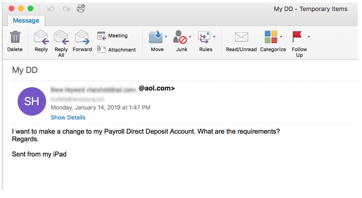 spear phishing exemple