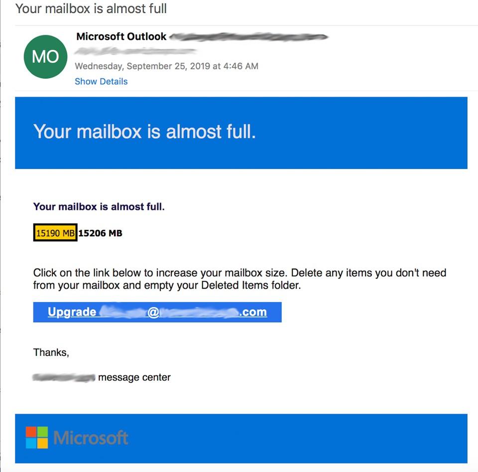 Une variante du logo de Microsoft parmi tant d'autres